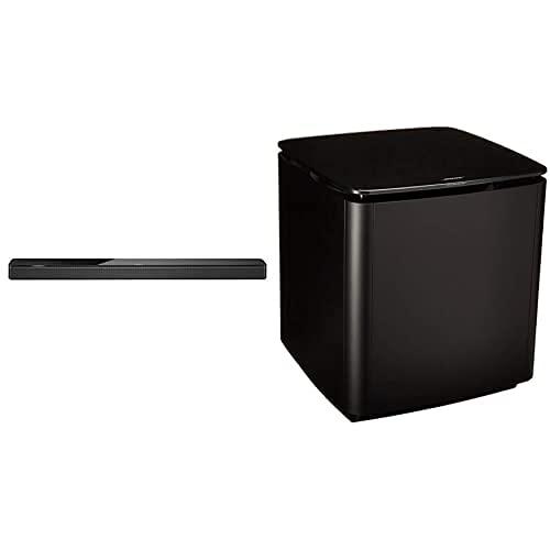 Bose 3.1 Home Theater Set (Black): Soundbar 700 + Bass 700