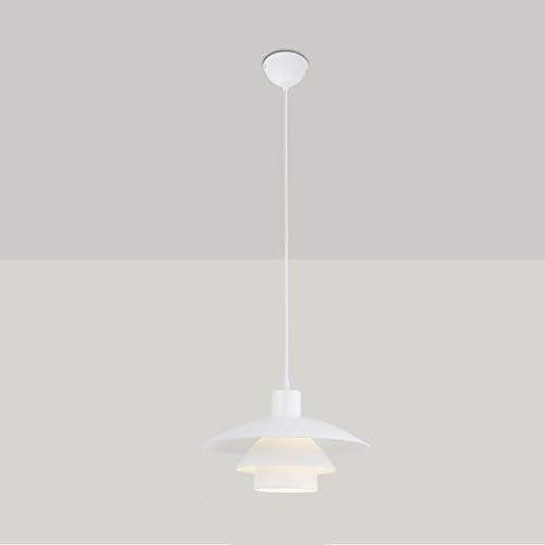 Candelabro Nordic Creativo Colgante Luz Personalidad Moderno Simple Blanco E27 Lámpara Colgante Altura Ajustable Fácil De Instalar Se Utiliza En La Sala De Estar Comedor Dormitorio