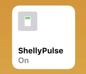 HomeKit kompatibel Shelly 1 Pulse by HomekitBG