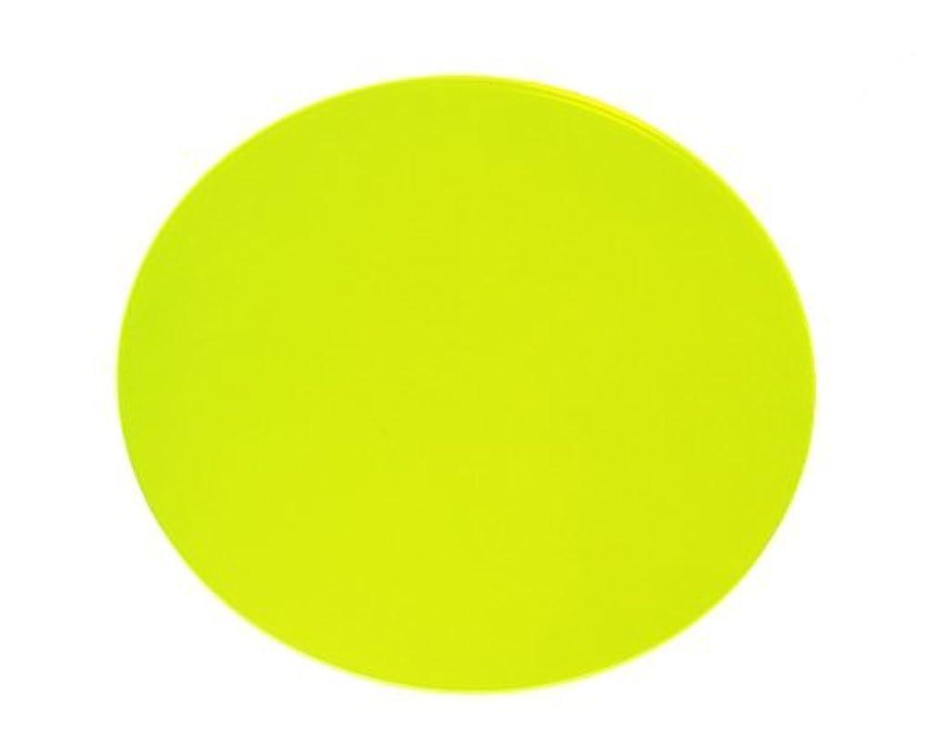 ヒョウ間違いなく取り替える光 アクリル板 丸 KA-2003 2×200mm 蛍光緑