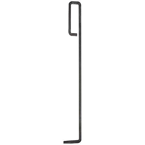 Esschert Design Schürhaken aus Metall, 58,0 x 7,6 x 1,2 cm