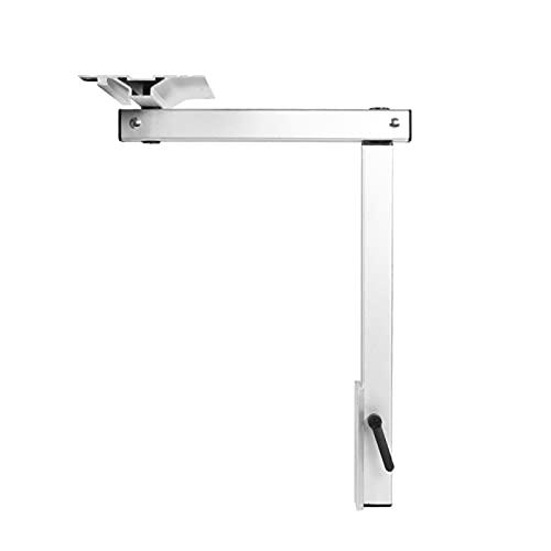 WYDMBH Patas De Muebles Piezas de aleación de Aluminio Pata de Mesa giratoria con diseño Mejorado 6 Soporte de Placa de Montaje de Orificio de Tornillo