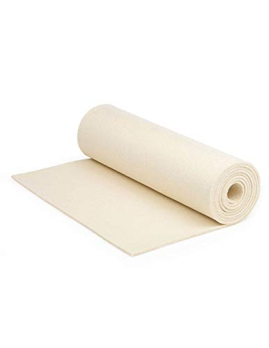 """F-10 Industrial Felt by The Foot - 72"""" Wide x 20 ft Long x 1/4"""" Thick"""