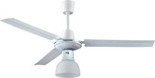 Ventilatore da soffitto con luce Effe Industrial 5 velocità 120 cm 65 W