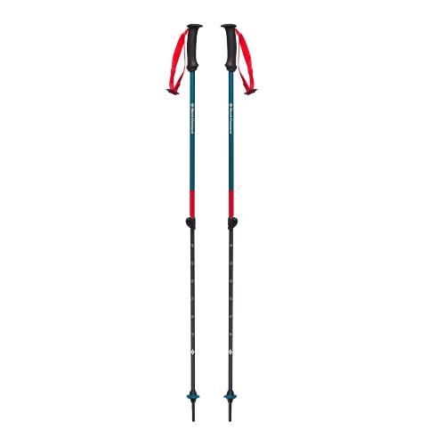 Black Diamond First Strike Trek Poles - Bastoncini da trekking e sci per bambini, colore: Blu Fjord