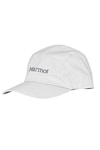 Marmot Erwachsene PreCip Eco Baseball Cap Kappe Mit Uv-Schutz, Platinum, One Size