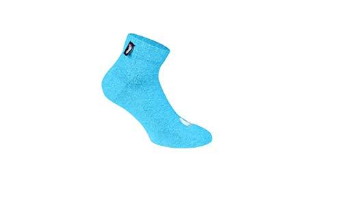 Fussvolk Quarter Socks Socken Eisblau 35-38