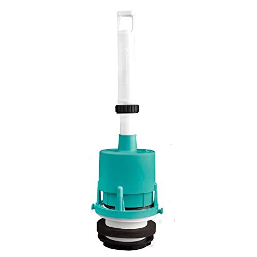 Acan Mecanismo de Descarga Cisterna de WC de Tanque bajo, plástico, 32 x 9 cm, Instrucciones Incluidas, Funcionamiento rápido y silencioso, Accesorios baño, fontanería