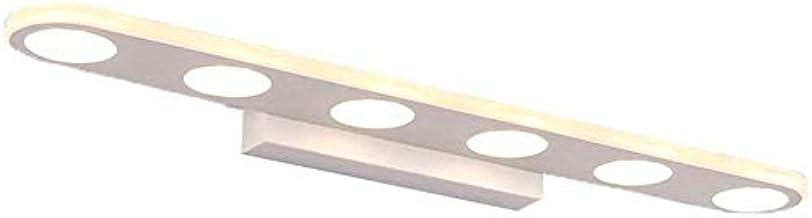 LED9 badkamerspiegel verlicht Watt lamp, acryl scherm licht mode beeld kabinet licht warm 27 cm -9 watt (kleur: warm)