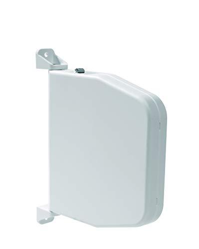 Selve Mini-Schnurwickler Aufputz schwenkbar, aufklappbar mit Scharniersystem für 5m Schnur für 4,5mm