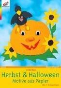 Herbst & Halloween: Motive aus Papier. Mit 2 Vorlagebögen