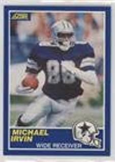 Michael Irvin (Football Card) 1989 Score - [Base] #18