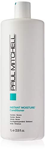 Paul Mitchell Instant Moisture Conditioner - Feuchtigkeits-Conditioner für trockene Haare, stärkende Haarpflege mit Shea-Butter, 1000 ml