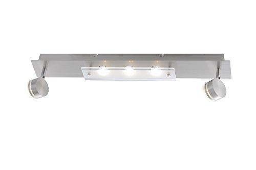 Paul Neuhaus Deckenleuchte, 5 x LED / 3,30 W / 3000 K, Innenleuchte, IP20, stahl 6318-55