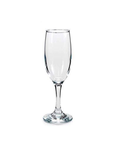 PASABAHCE Set 6 Goblets glass bistro flute CL19 Glas Weinglas und Kelch