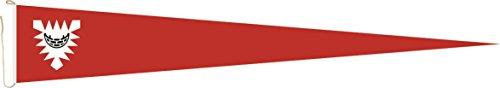U24 Langwimpel Kiel Fahne Flagge Wimpel 150 x 40 cm Premiumqualität