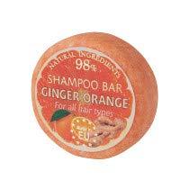 SAULES FABRIKA Duft Shampoo – Bar Naturkosmetik 100% Handmade natürliche Shampooseife handgemachte Haarseife 60g Haarwaschseife für alle Haartypen (Ginger Orange)