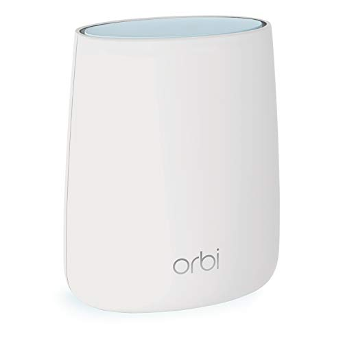 NETGEAR Orbi RBR20 Mesh WLAN Router (Routeur Maillé Tri-Bande pour une Couverture jusqu'à 125 m², Vitesse de 2200 Mbit/s)