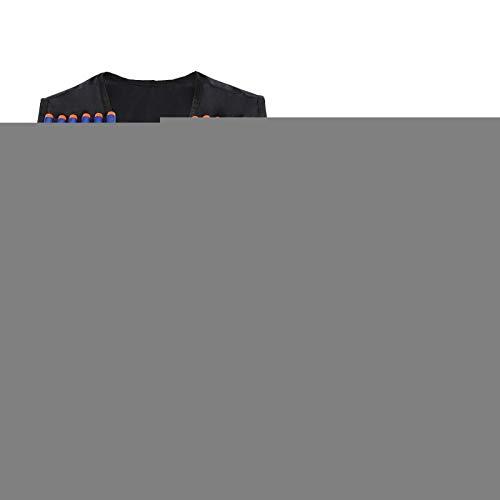 DAUERHAFT Elite Series Black Elite Kit de Chaleco Elite para niños con Correas de Chaleco Ajustables para Jugar