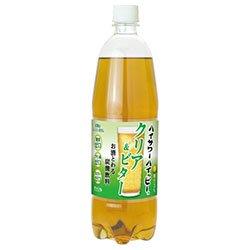 博水社 ハイサワーハッピー クリア&ビター ペット 1L