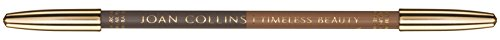 Joan Collins Timeless Beauty, Contour Eyebrow Pencil Duo, Charcoal/Light Brown, 1.56 g