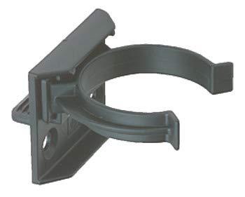 10 clips de prensa, tornillos de cocina, estriados, para zócalo y soporte de 30-32 mm