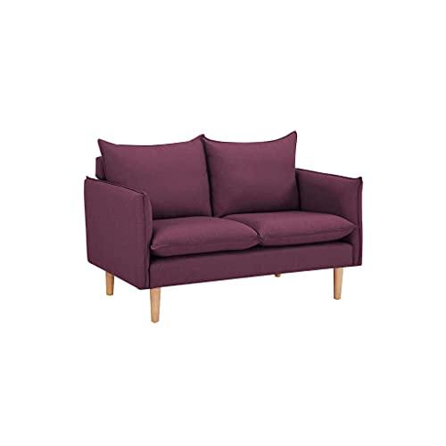 divano 3 posti 2 posti stile nordico scandinavo di design (2 posti, Viola)
