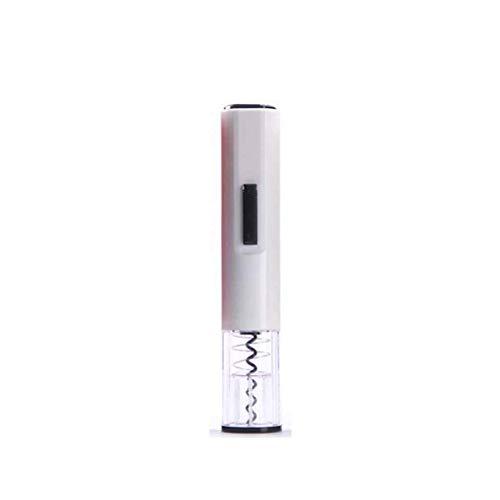 YYhkeby Abrelatas de Botella eléctrico Profesional, Caja de Regalo con la Botella abridor automático, Cápsula Cutter, Oro Jialele (Color : White)