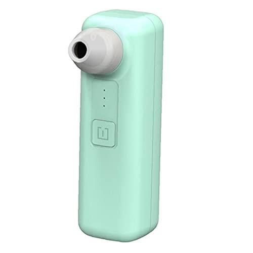nJiaMe Vacío de la espinilla del removedor de la espinilla Microscopio llevada Recargable Limpiador Facial del poro de succión WiFi acné Herramienta para el Cuidado de la Salud Verde