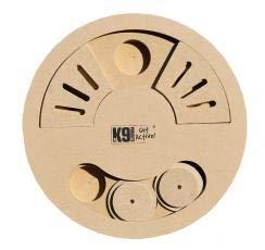 K9-Pursuits P.J Pet Products IQ Game Clousea, taglia unica, legno marrone, 400 g