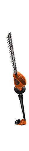 BLACK+DECKER 18V Cordless 43 cm Pole Hedge Trimmer with 2.0Ah Lithium Ion Battery