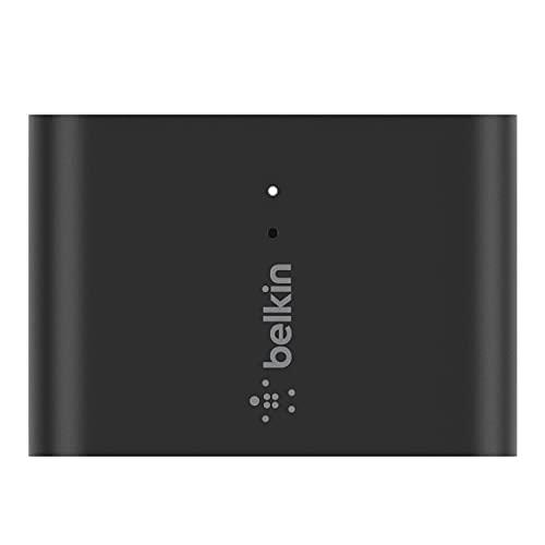 Belkin オーディオアダプター iPhone Mac ワイヤレス 変換 3.5mmオーディオ AirPlay 2対応 SOUNDFORM CONNECT AUZ002-A