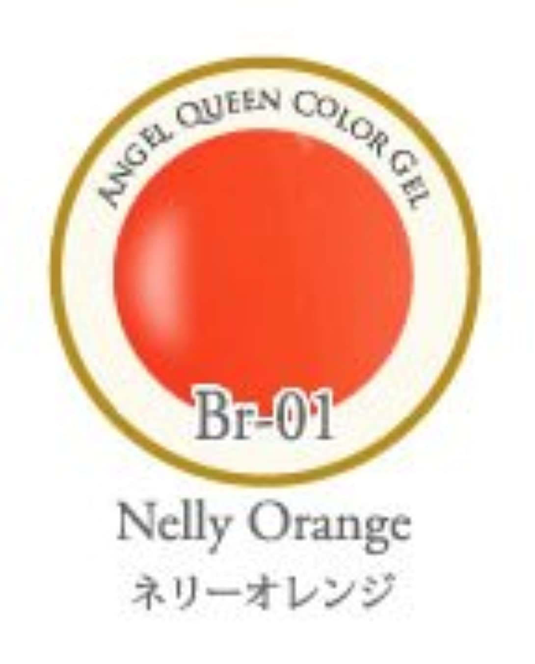 レビュアー遠近法九時四十五分エンジェル クィーンカラージェル Brilliant 3g ネリーオレンジ