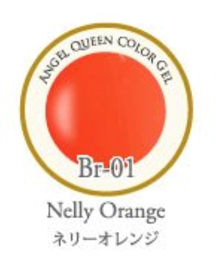 鑑定麻痺オーナメントエンジェル クィーンカラージェル Brilliant 3g ネリーオレンジ