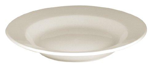 Olympia y092 Assiette creuse, couleur : ivoire (Lot de 6)