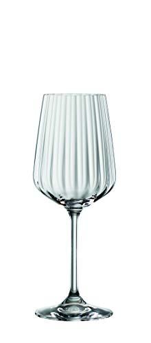Spiegelau & Nachtmann, 4-teiliges Weißweinglas-Set, Kristallglas, 440 ml, Spiegelau LifeStyle, 4450172