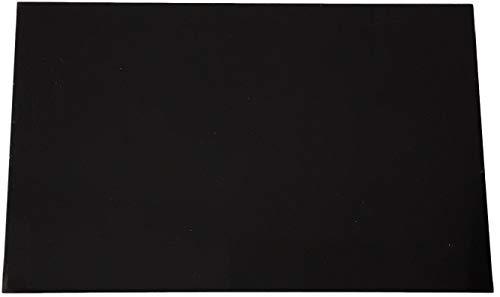 3,0 mm Alu-Verbundplatte schwarz RAL9005 einseitig matt einseitig glanz ca. 745 x 600 mm Aluminiumverbundplatte Etalbond