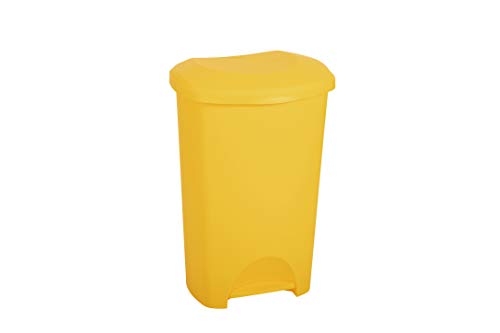 Addis 50 Litre Yellow Medical Clinical Recycling Commercial Utility Waste...