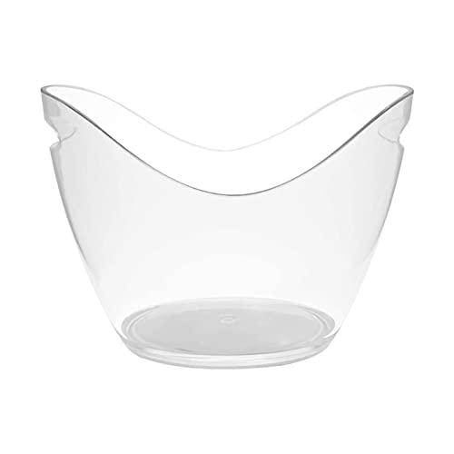 YWSZJ Transparente 3L Cubo de Hielo Cubo de Hielo Lingot Forma Forma Forma Alojamiento Soporte de Agua