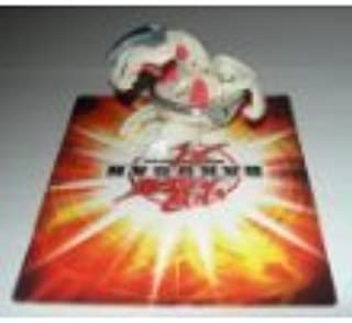 Bakugan Battle Brawlers Special Attack Heavy Metal Delta Dragonoid II Single Loose Figure [White & Grey] 530G Power
