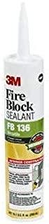 3M Fb-136 10.1Fl Oz Fire Block Slnt - Package Qty 12