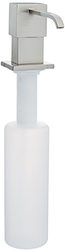 Danze D495944SS Sirius Deck Mount Soap and Lotion Dispenser, Stainless Steel -