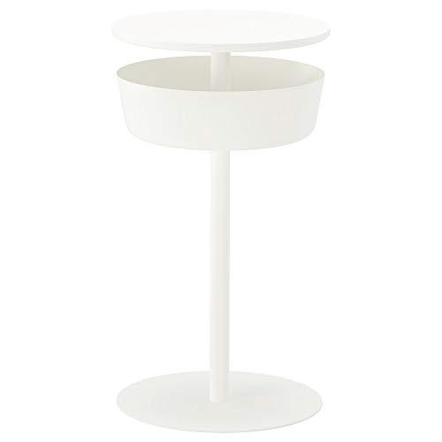Ikea Lierskogen 403.308.62 - Mesita de Noche (403,308,62, 40,5 x 73,3 cm), Color Blanco