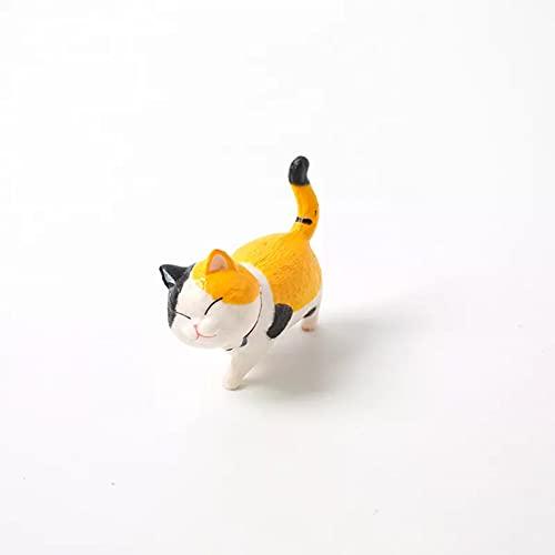 jiuyin Bijoux,Porte-clés Joli Chat Ornements créatif Fille Ornements personnalité étudiante décoration de la Maison Accessoires Bureau modèle Anniversaire GIF