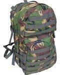 KOMBAT UK Rucksack Molle Assault Bag kompakter und durchdachter Militär Rucksack Flecktarn DPM 40 Liter Volumen
