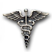 Badges And Collar Devices Navy Hospital Corpsman Cap Pin Oxidized Finish