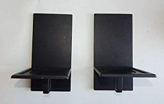 Partylite Essential Candle Holders, Set of 2 Metal Sconces P9153