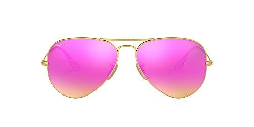 Ray-Ban Herren Rb 3025 Sonnenbrille, Gold (Dorado), One size (58)
