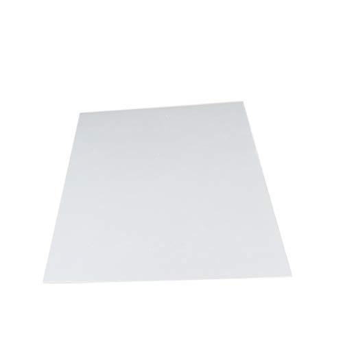 Fielect Clear Acrylic Plexi Glass Sheet 1mm Thick,210mm x 148mm,Plastic Plexi Glass Board for Picture Frames,Sign Holders,Craft,1pcs