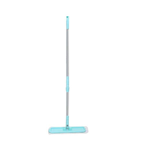 Great Deal! QYLSH 360 ° Rotating Flat Mop - Mop Pads, Wet and Dry with Stainless Steel Handle and W...